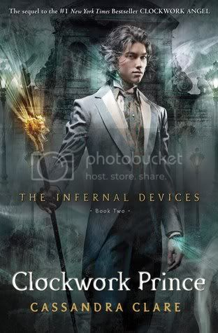 clockwork prince by cassandra clare book cover